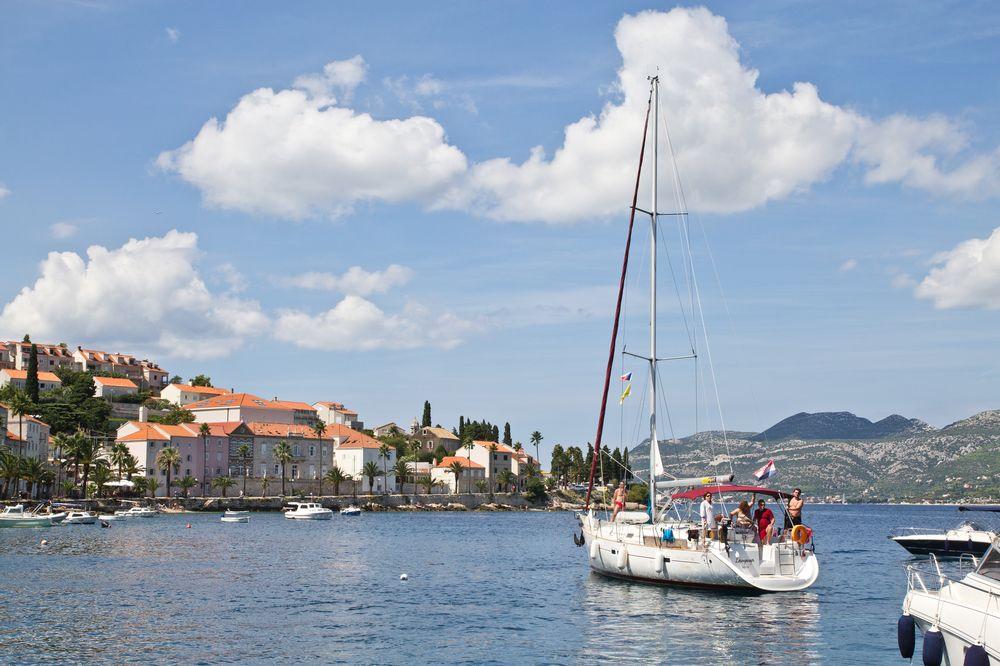 Korcula Kroatien Mittelmeer Kreuzfahrt MS Europa 2