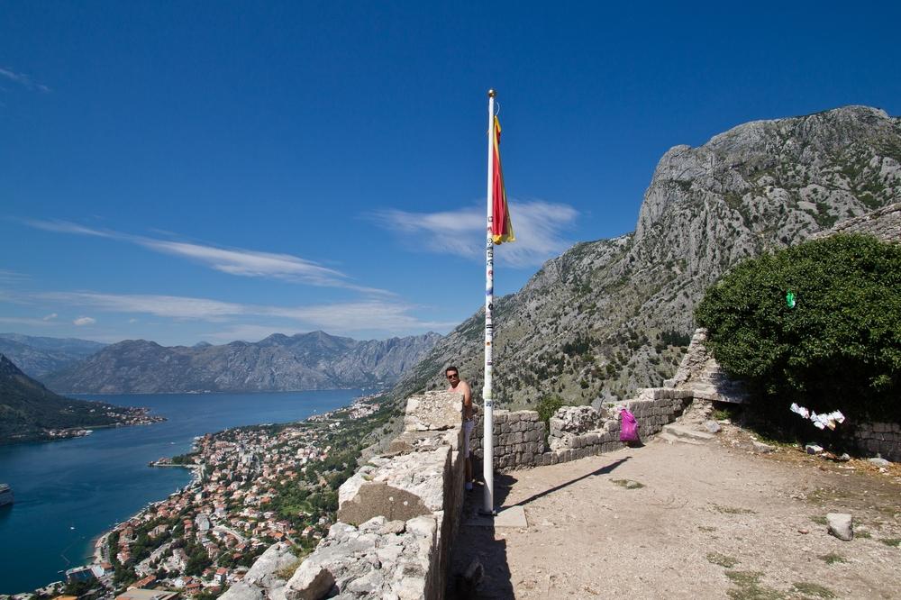 Wanderung Burg Kotor Montenegro MS Europa 2