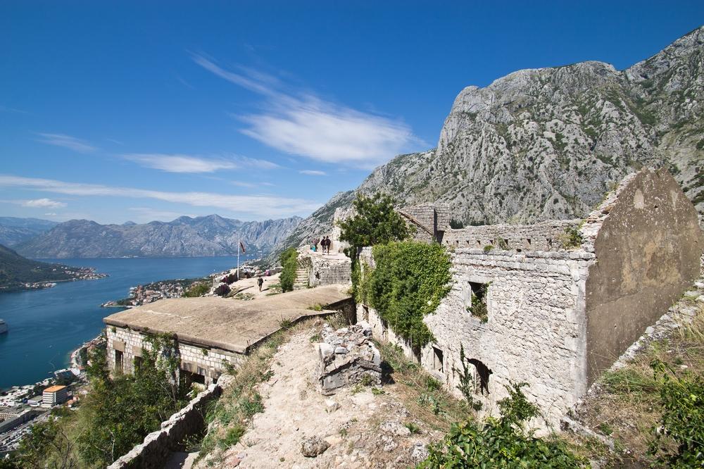 Aussicht Burg Kotor Montenegro MS Europa 2