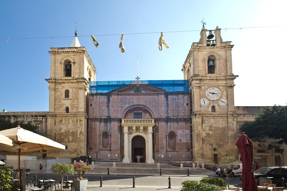 St. John's Co Cathedral Malta, Valetta