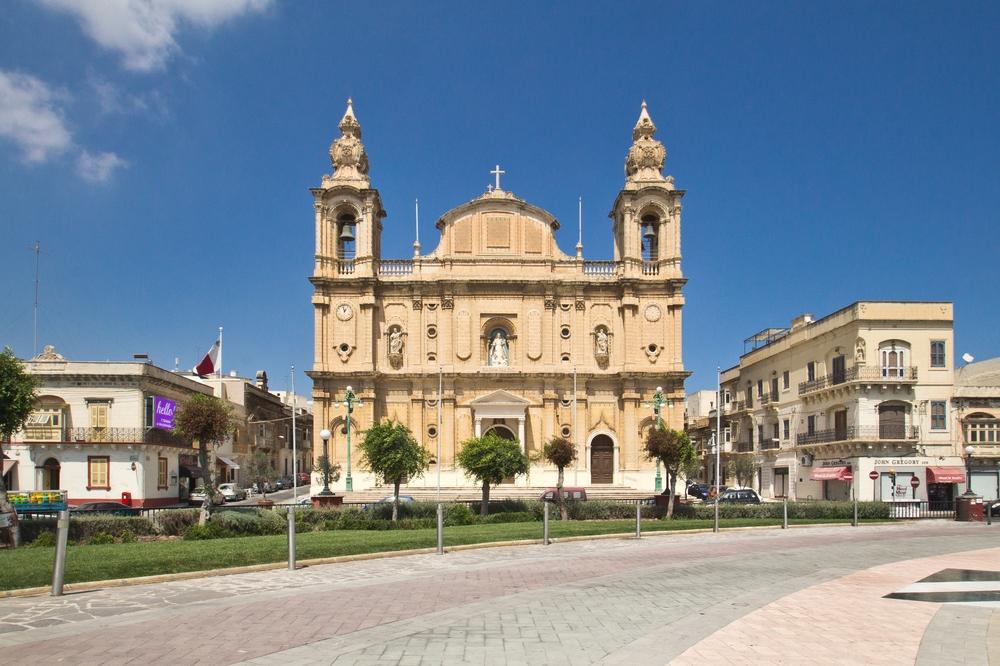 Pfarrkirche St. Joseph Msida Parish Church Malta
