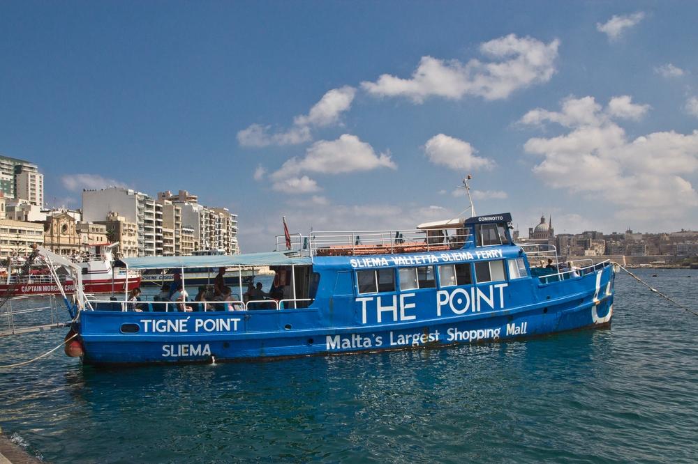 Malta Sightseeing Wassertaxi Sliema Valetta