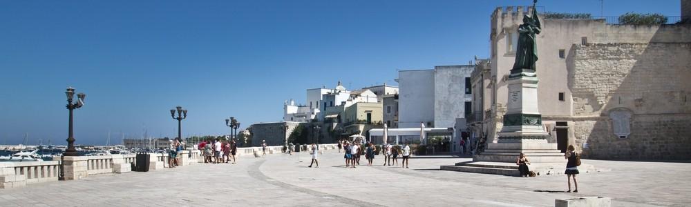 Innenstadt Otranto Mittelmeer Apulien