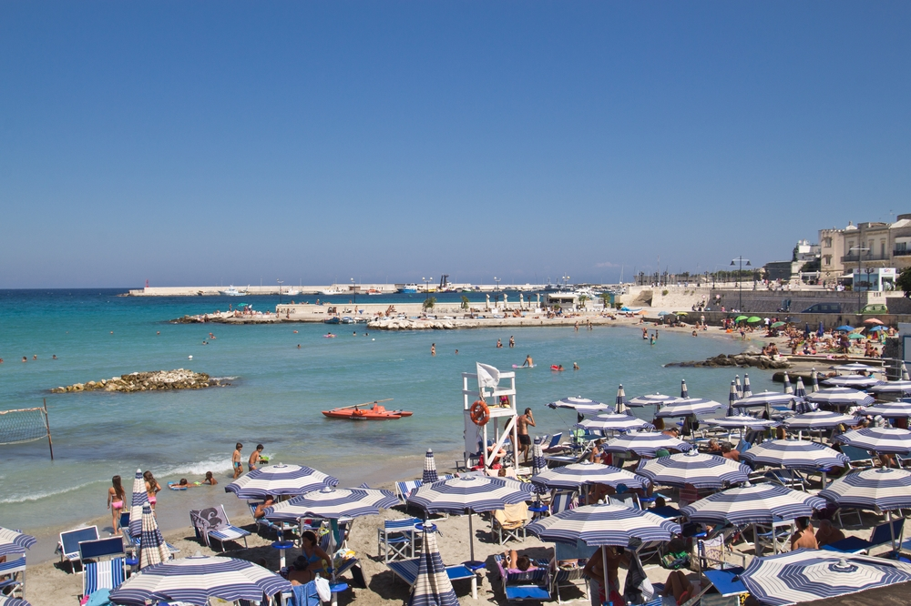 Strand Lungomare Otranto Kreuzfahrt MS Europa 2