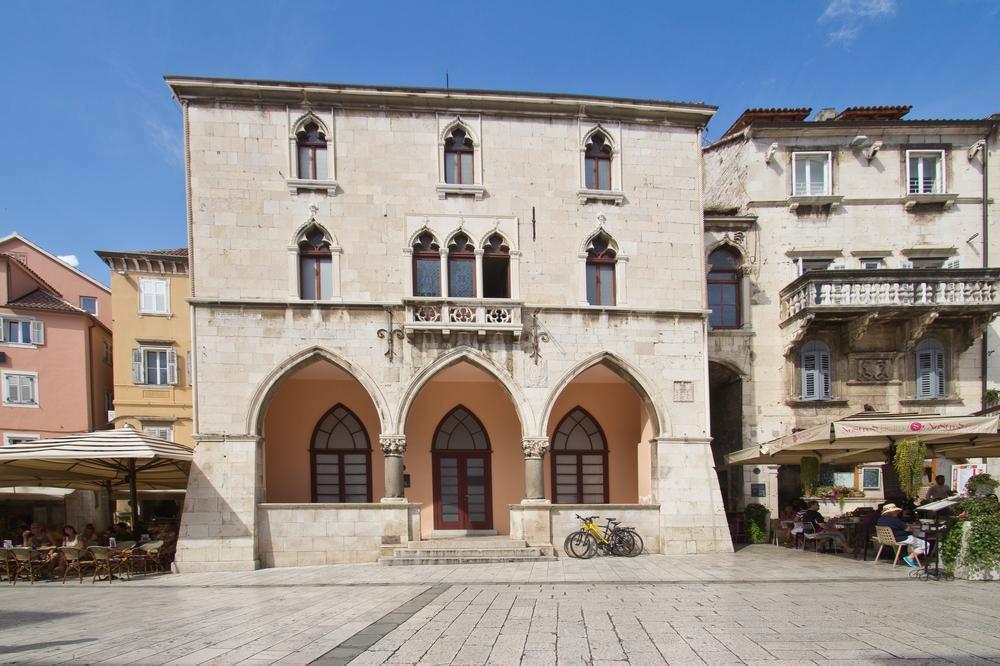 Venezianische Loggia, Ethnographisches Museum Split Kroatien
