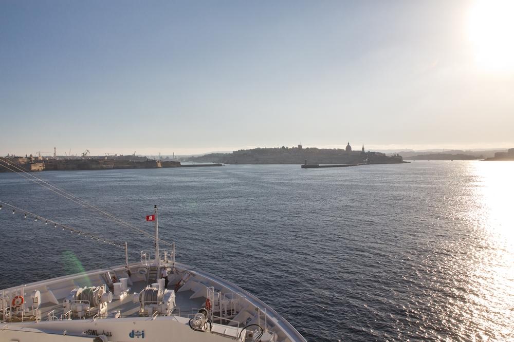 MS Europa 2 Malta Valetta Hafen