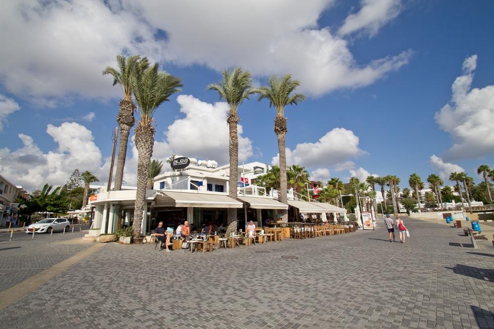 Paphos Innenstadt Zentrum Zypern