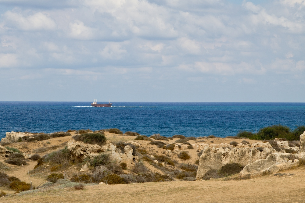 Zypern Paphos MV Demetrios II Wrack Schiffwrack