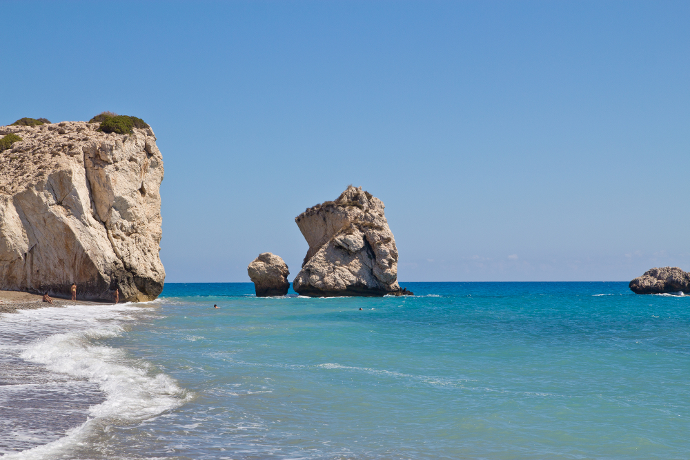 Geburtsort der Aphrodite Petra tou Romiou Zypern