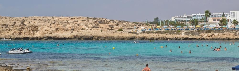 Agia Napa Strand Sandy Bay