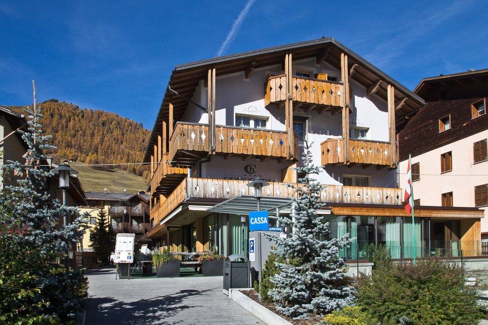 Livigno Luwin Hotel Concordia Wellness Urlaub