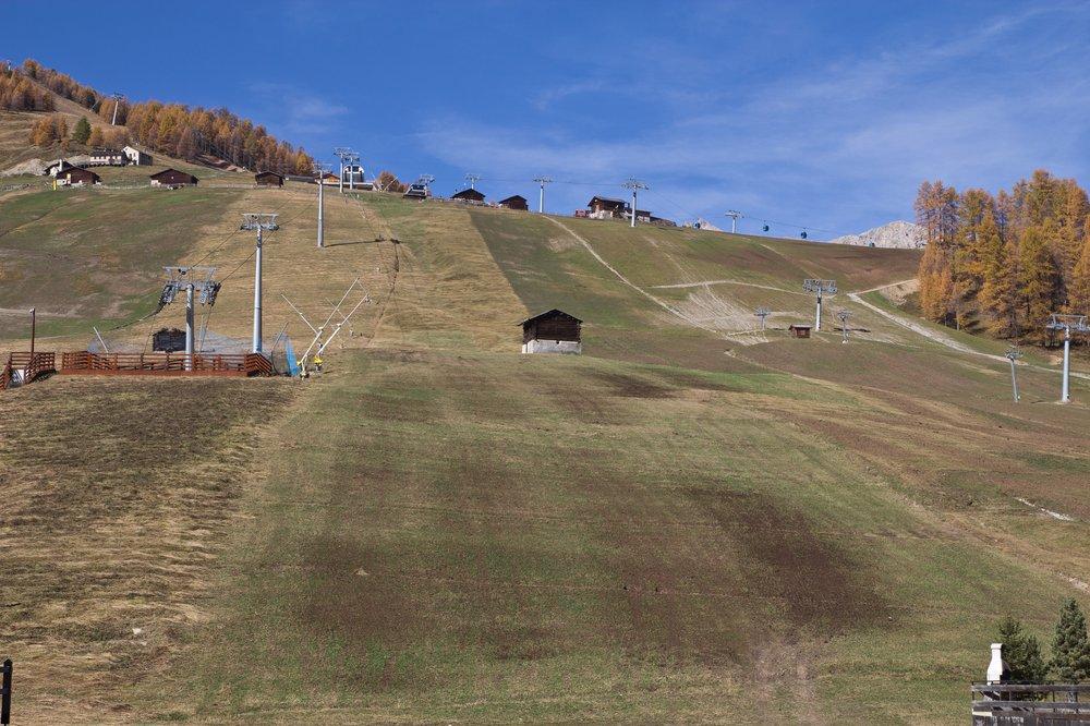 Livigno Luwin Lombardei Skipiste Skilift