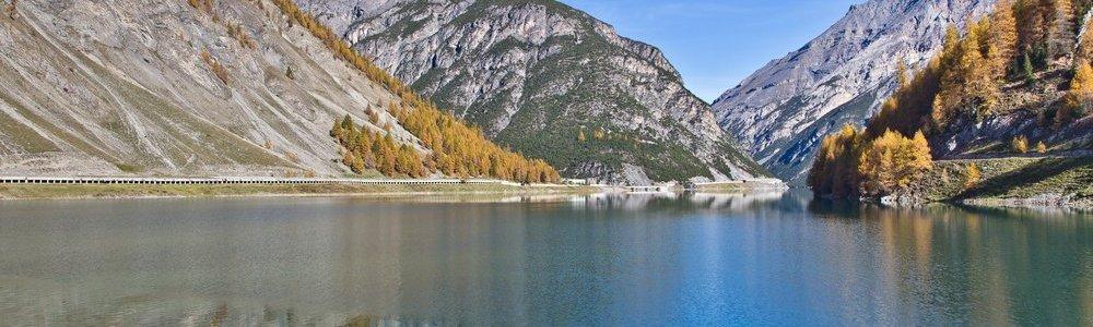 Lago die Livigno Gallerien Tunnel Schweiz