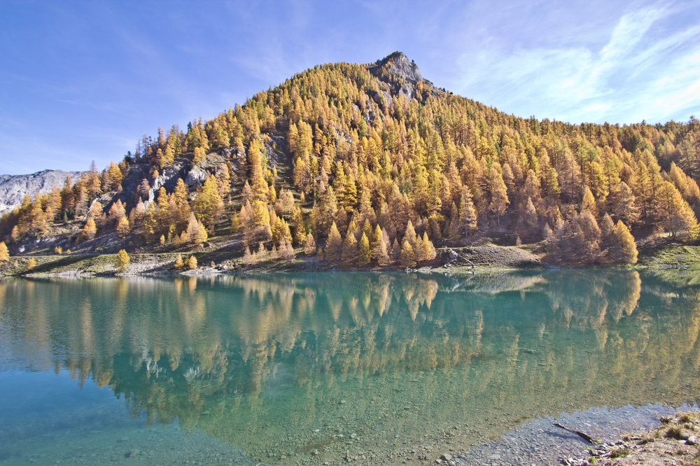 Lago di Livigno Gallerien Tunnel Schweiz
