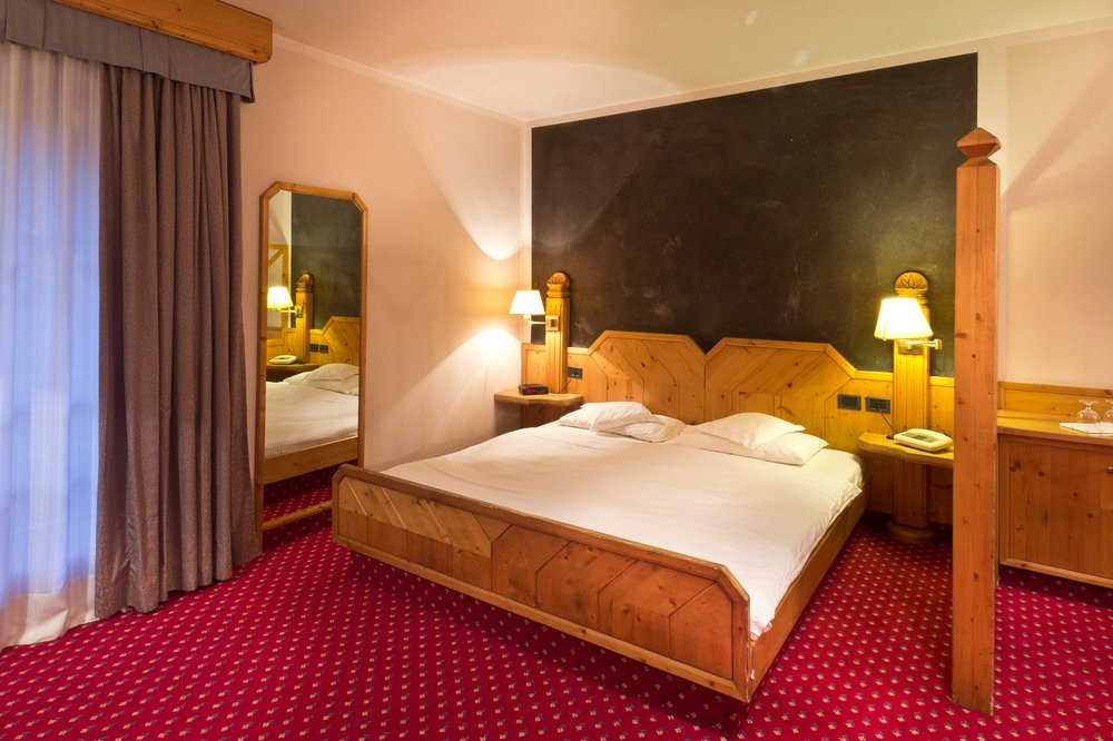 Hotel Concordia Luwin Zimmer Doppelzimmer