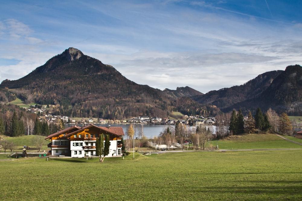 Fuschlsee Fuschl am See Salzkammergut Österreich