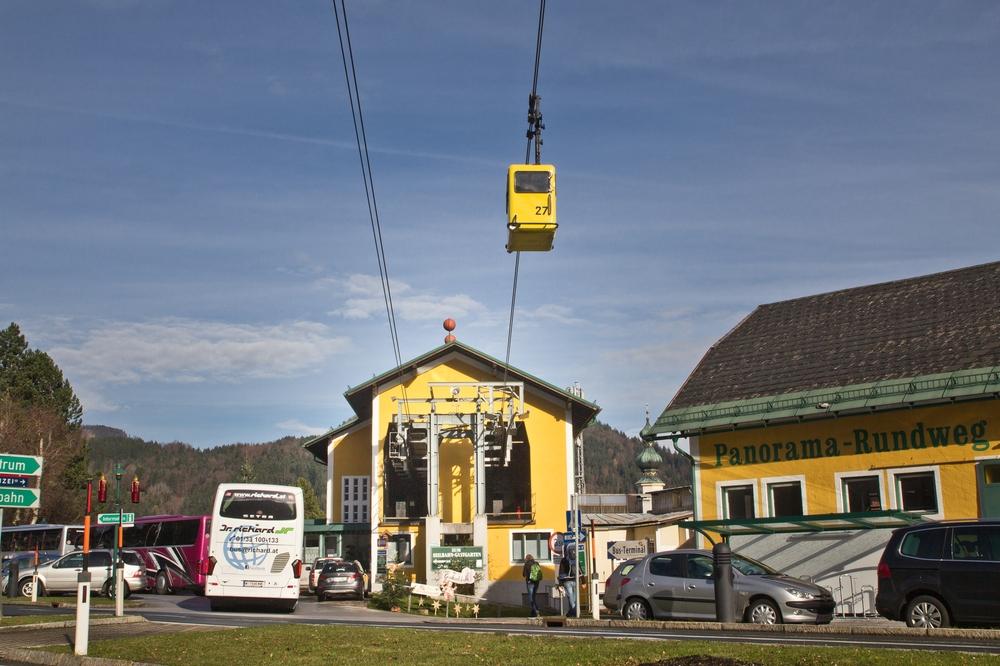 Zwölferhorn Seilbahn 12horn St. Gilgen