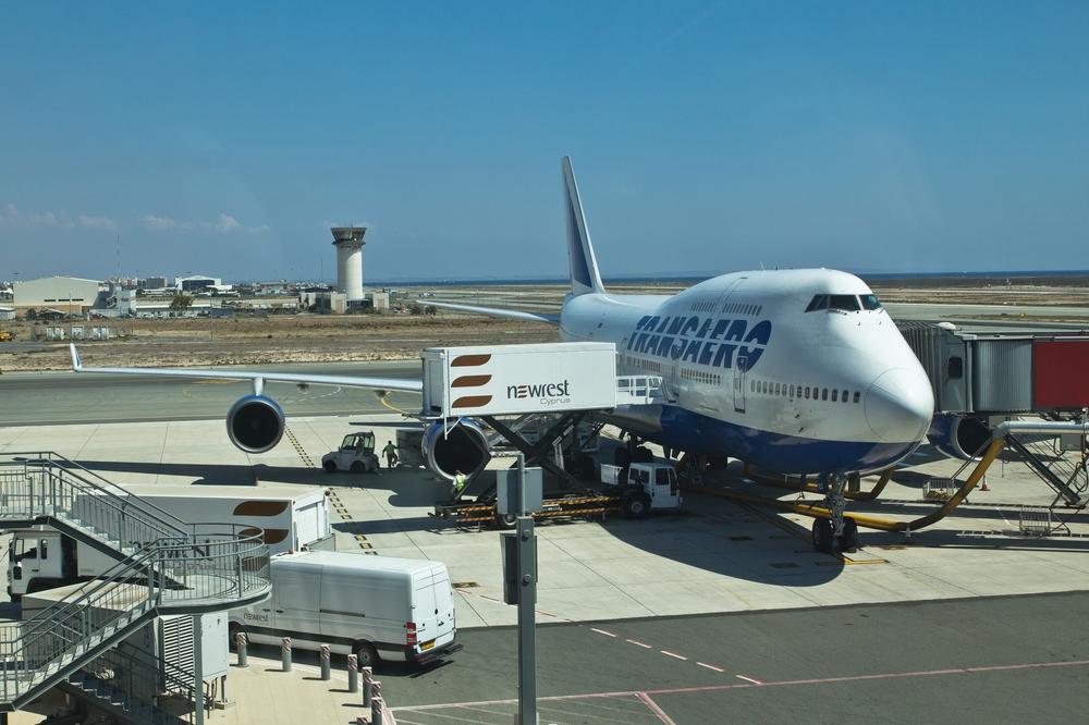 Aeroflot Fluggesellschaft Flughafen Larnaka