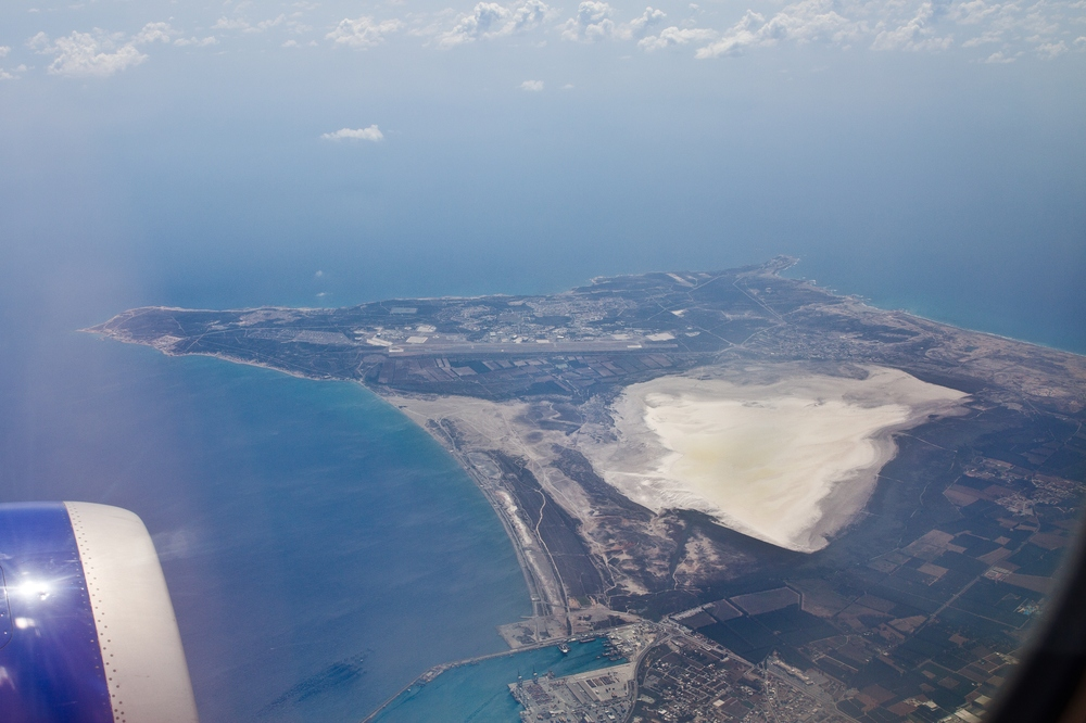 Zypern Luftbild Akrotiri Halbinsel Limmassol