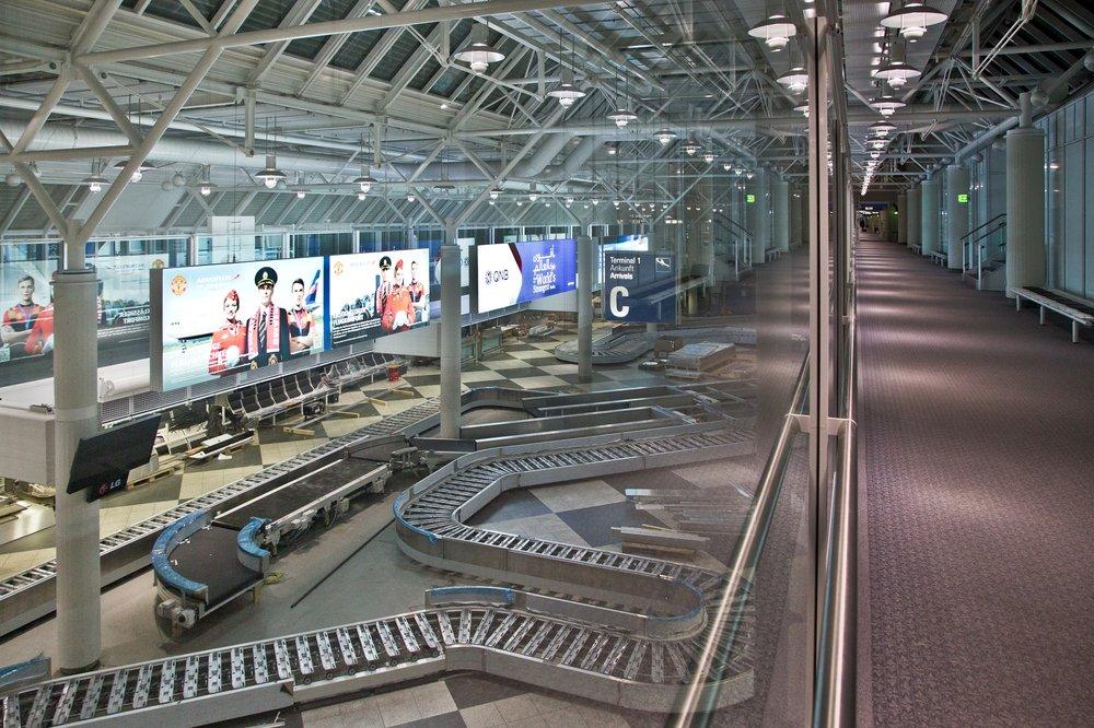 Flughafen München Airport Gepäckbänder