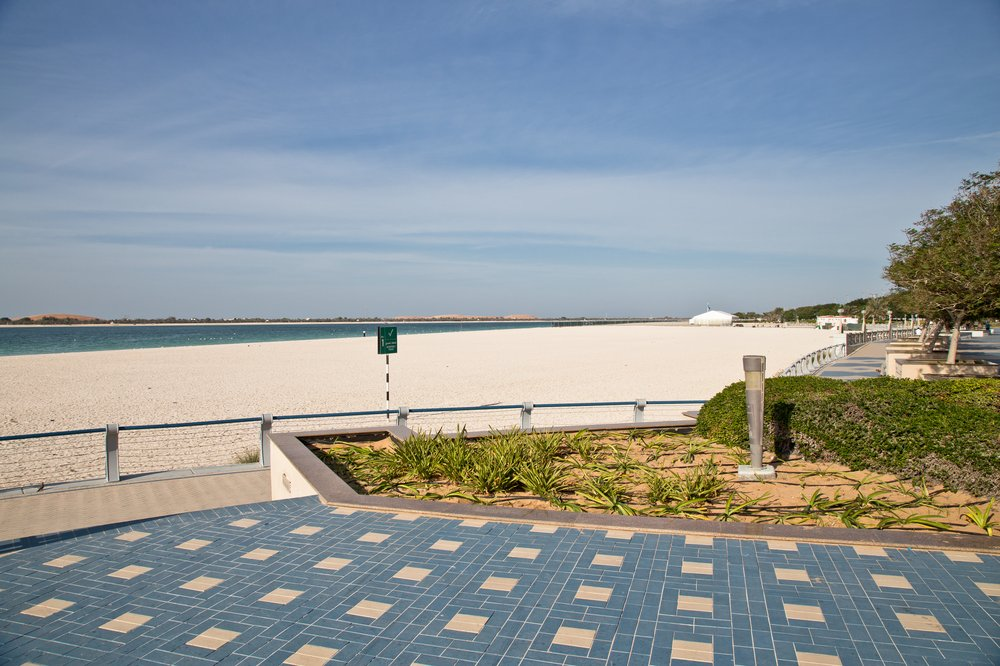 Strand Beach Corniche Abu Dhabi