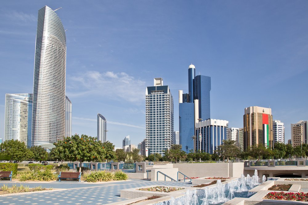 Corniche Abu Dhabi Skyscraper Wolkenkratzer
