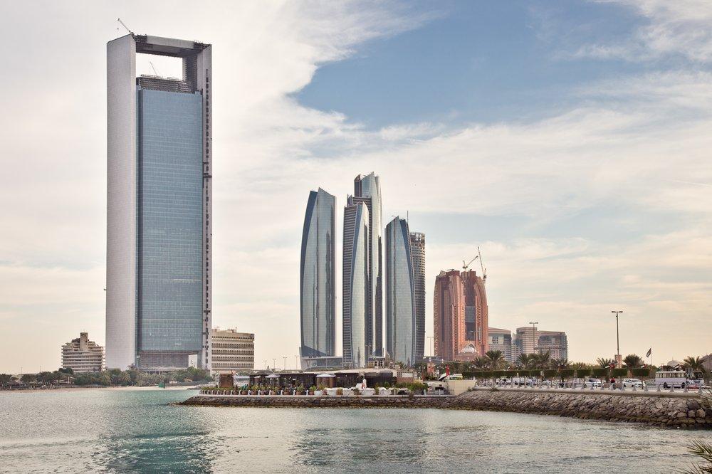 Abu Dhabi Skyline Waterfront