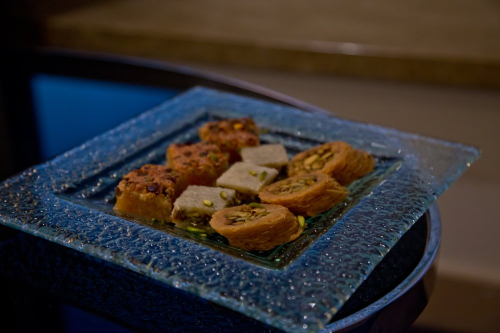 Baklava arabische Desserts Abu Dhabi Le Royal Meridien