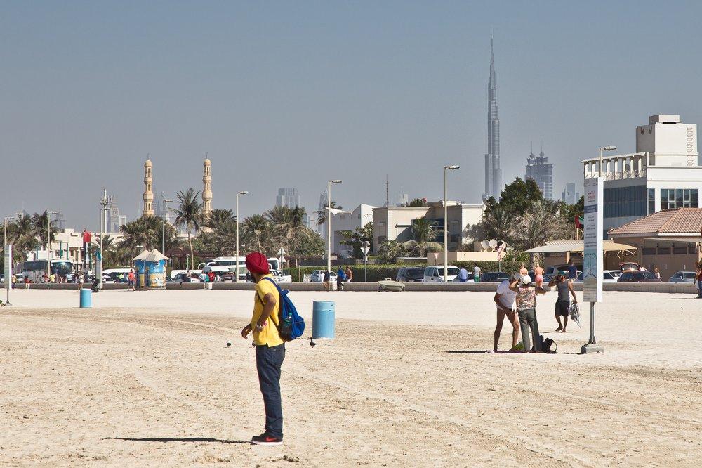 Jumeirah Beach Burj Khalifa
