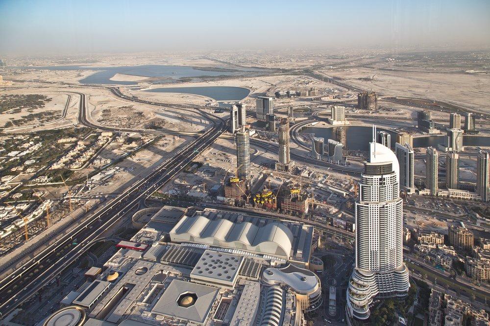 Dubai Creek Burj Khalifa