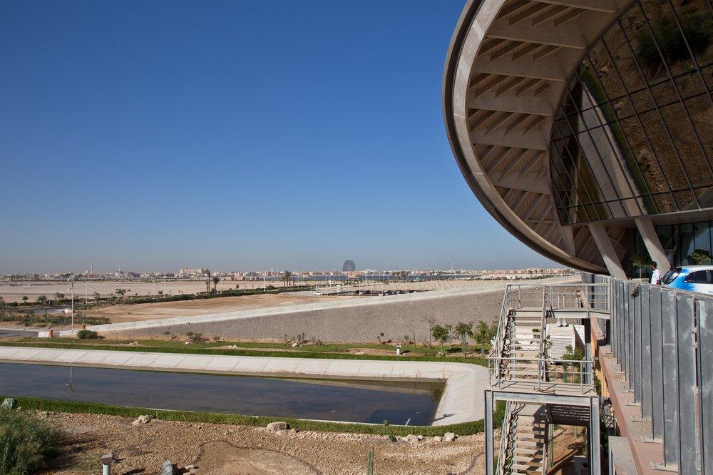 Masdar City Abu Dhabi UAE