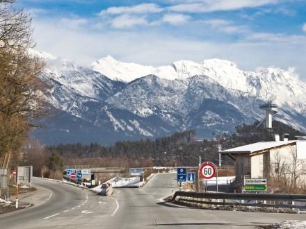 Vierschanzentournee Skisprungschanze Innsbruck