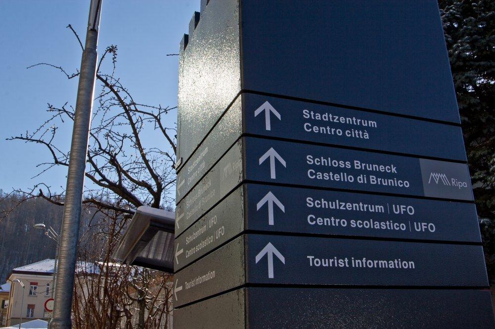 Sightseeing Stadt Bruneck