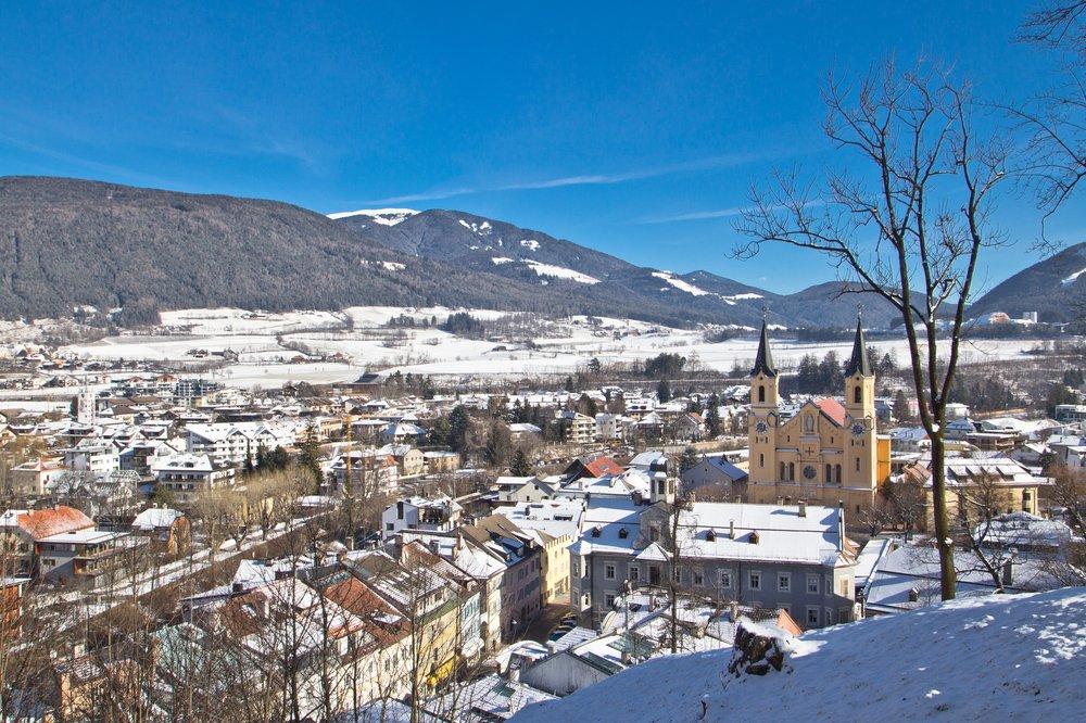 Schloss Bruneck Brunico Kronplatz Aussicht
