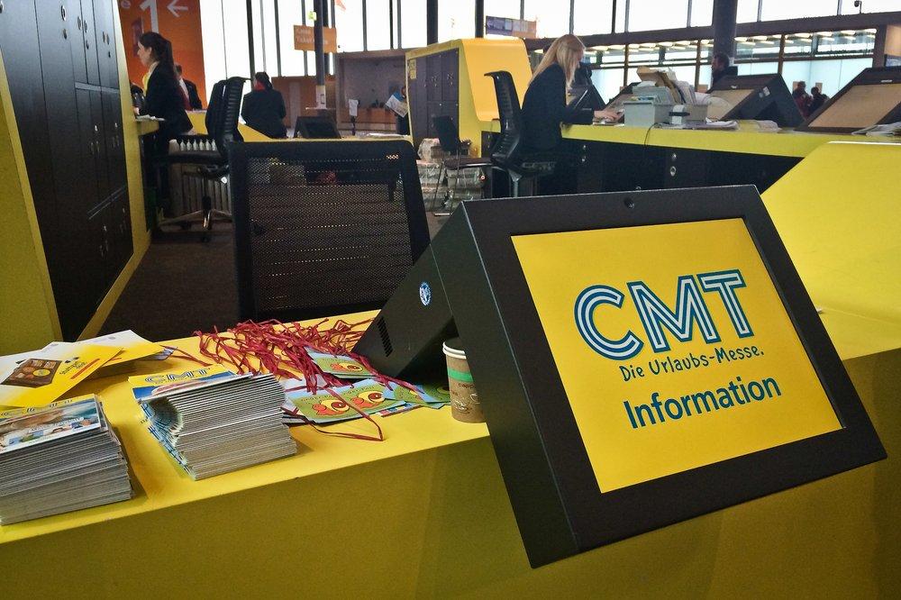 CMT 2015 Reisemesse Übersicht