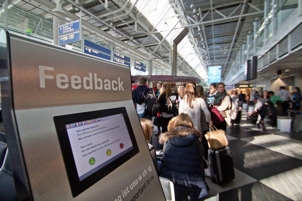 Flughafen München Feedback Terminal 1
