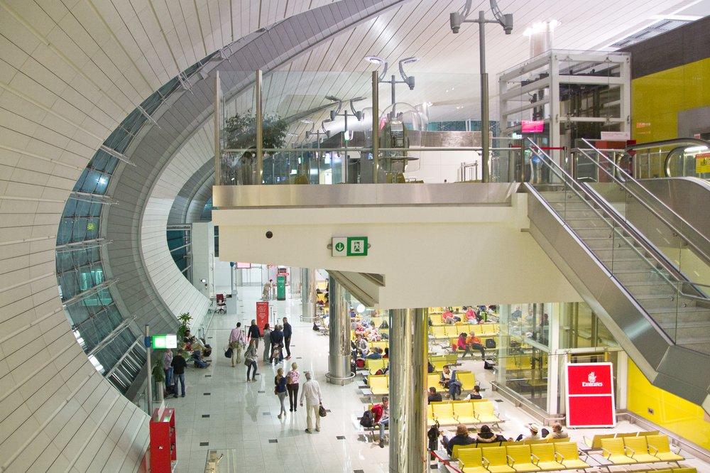 Flughafen Dubai Abflug Seychellen