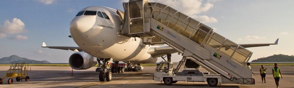 Airbus A330 Emirates Dubai Seychells