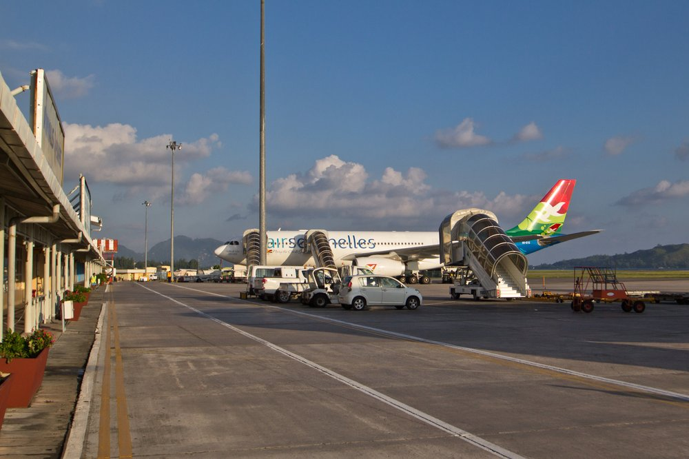 Air Seychelles A330 Mahé International Airport