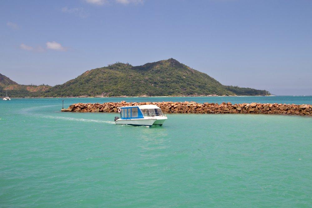 Praslin Seychellen Baie Sainte Anne