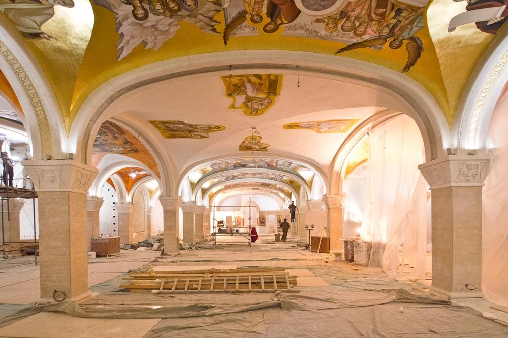 Dom des Heiligen Sava Serbien Belgrad