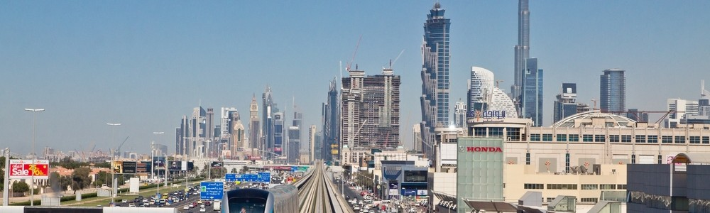 Dubai Metro Downtown Burj Khalifa