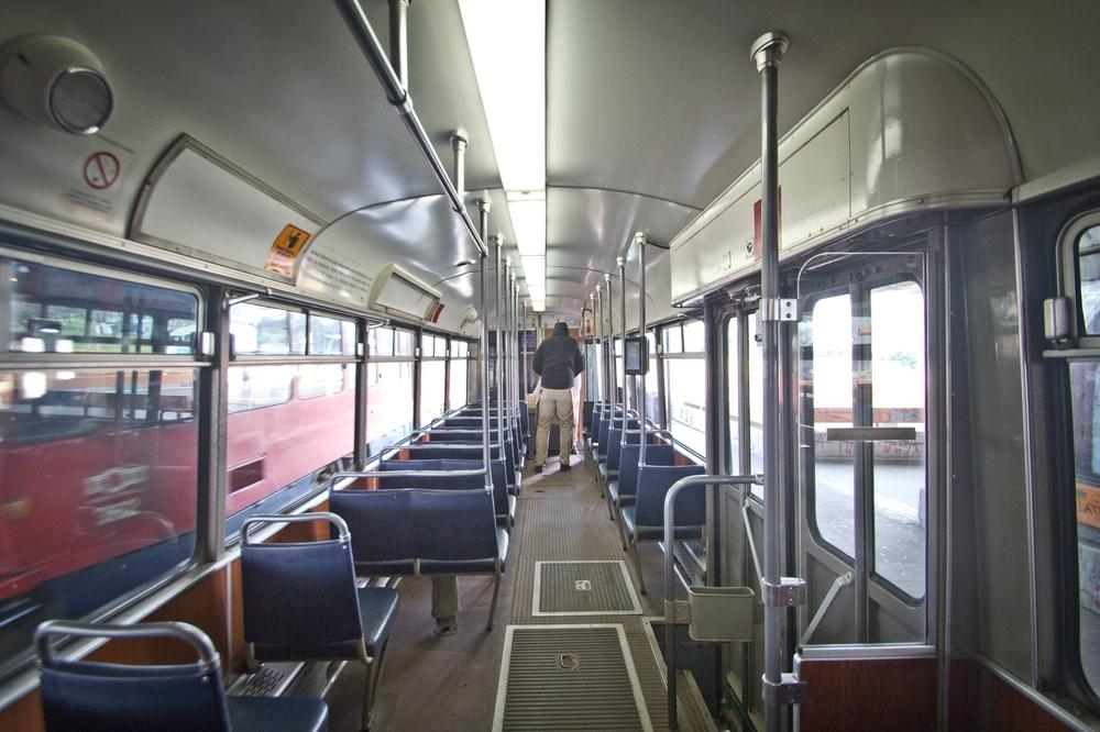 Tram Belgrad Serbien Sightseeing