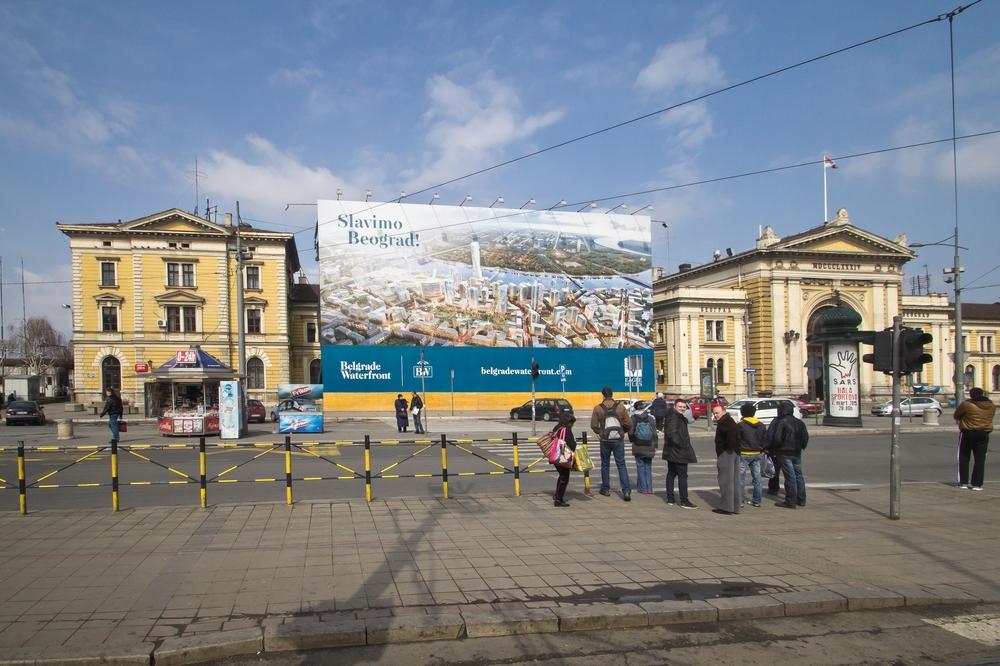 Bahnhof Belgrad Serbien