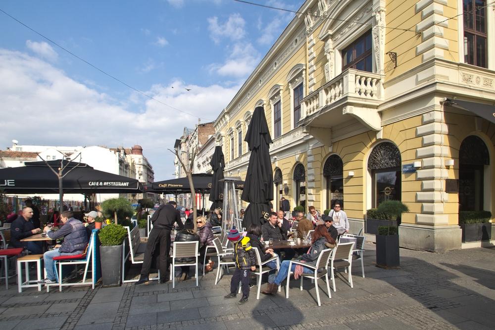 Knez Mihailova ulica Belrad Serbien