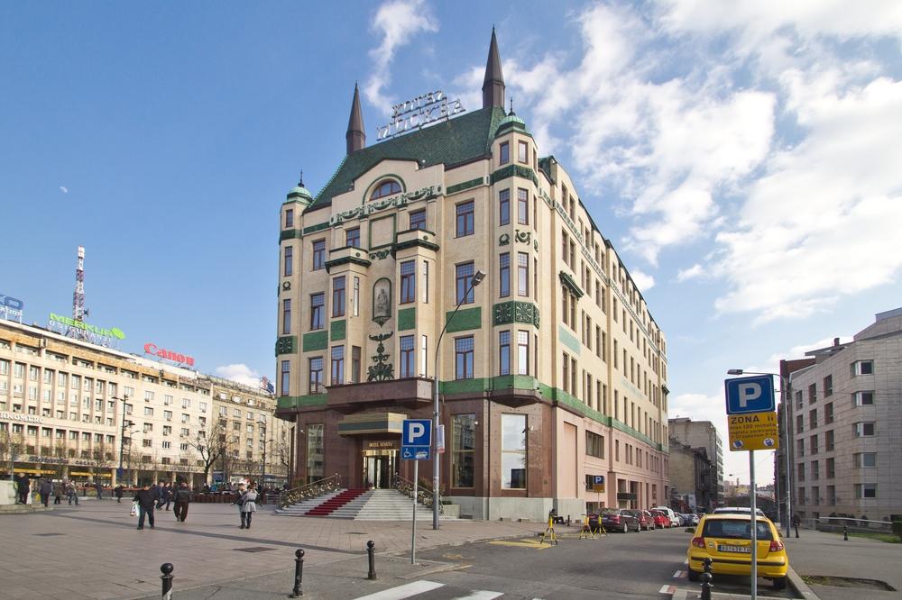 Hotel Moskva Serbien Belgrad