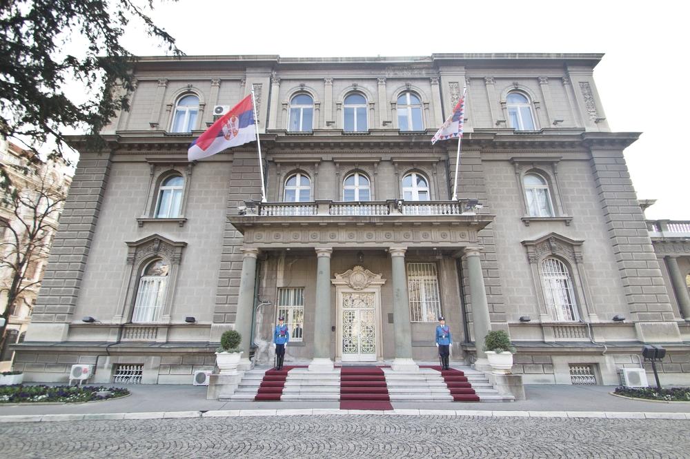 Präsident Haus Republik Serbien