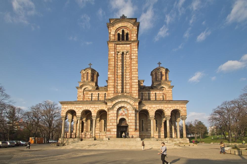 St.-Markus-Kirche Belgrad Serbien
