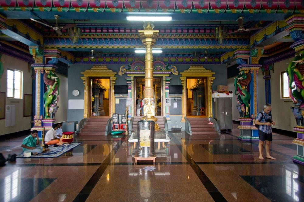 Hindu Temple Victoria Hauptstadt Seychellen Kreuzfahrt