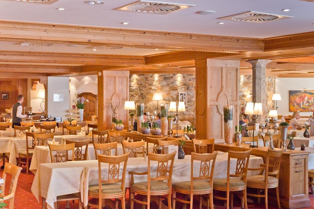 Hotel Das Central Sölden Restaurant